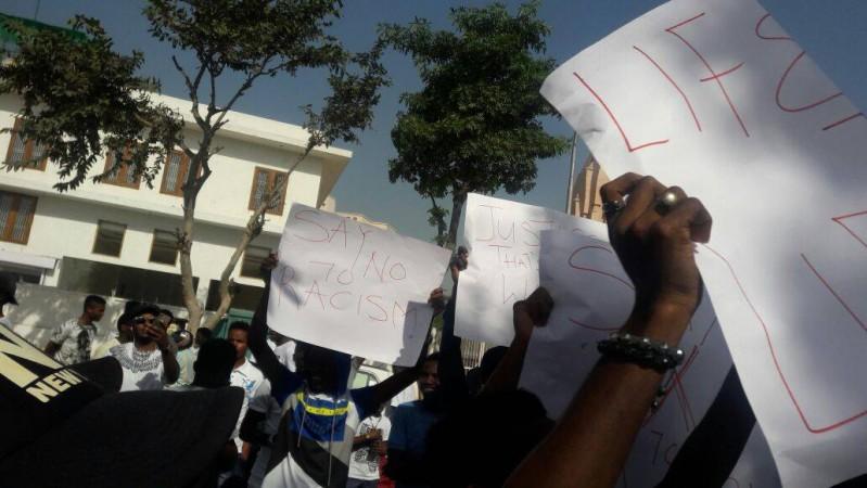nigerians attacked in greater noida