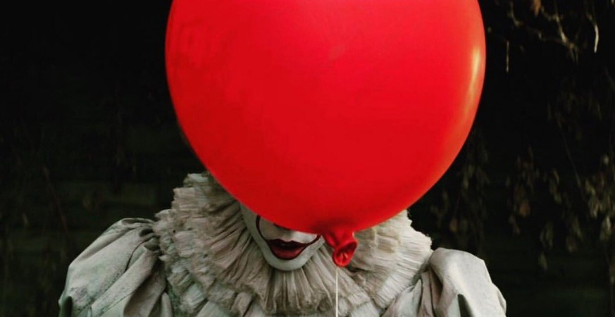 Pennywise in Stephen King's IT movie