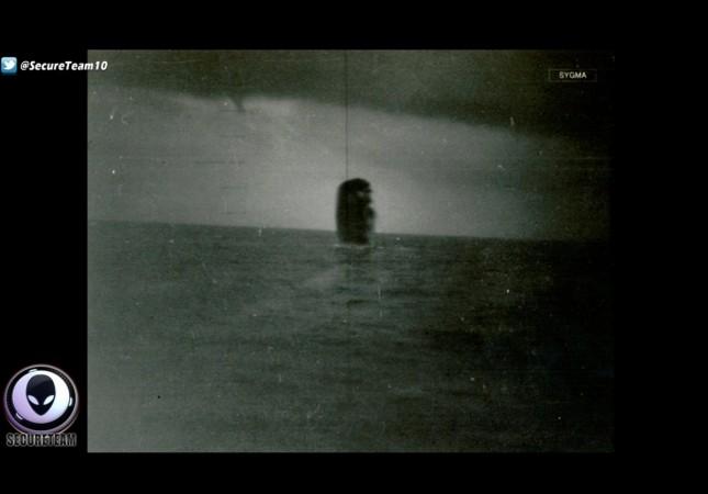 ufo, underwater, mysterious, strange, alien,