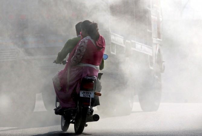 Air pollution, BS-IV, emission