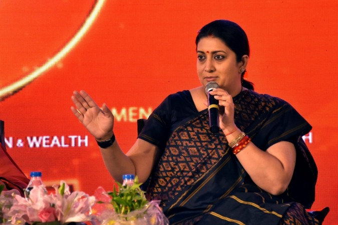 Delhi University students booked for allegedly stalking and misbehaving with Smriti Irani