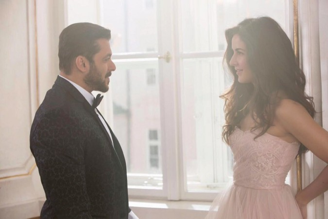 Salman Khan and Katrina Kaif first look in Tiger Zinda Hai