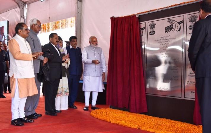PM Modi, chenani nashri tunnel