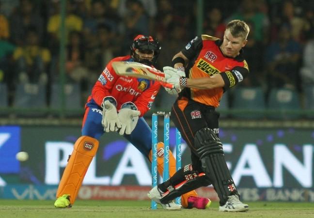 David Warner, IPL, SRH, Gujarat Lions, Dinesh Karthik