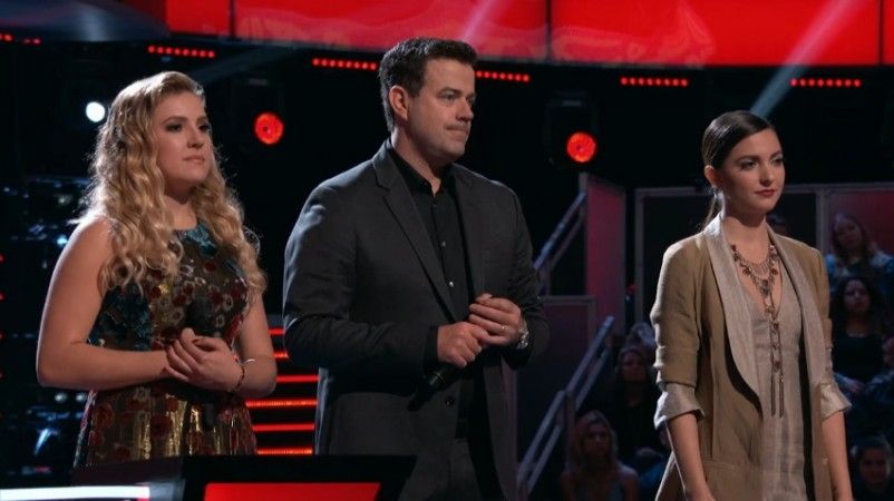 Ashley Levin and Lilli Passero on The Voice USA 2017 (Season 12)