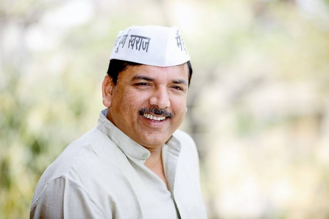 Sanjay Singh of Aam Aadmi Party (AAP)
