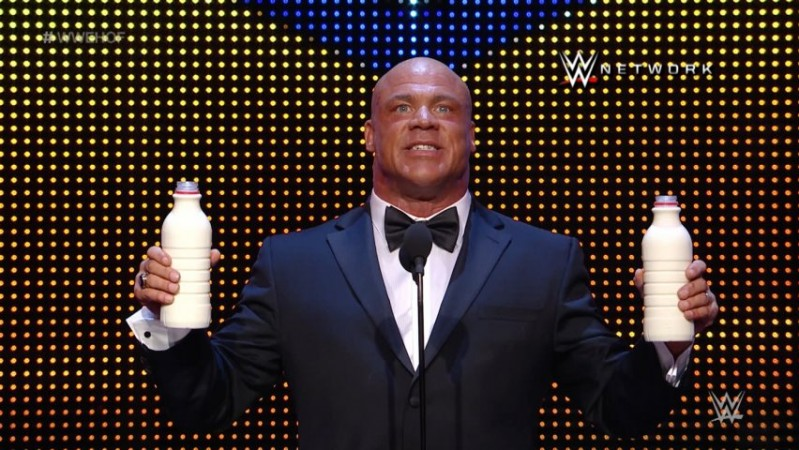 WWE Hall of Fame Class of 2017 inductee Kurt Angle