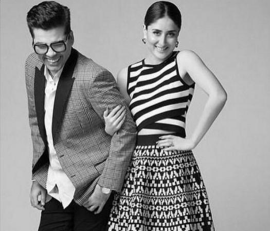 Kareena Kapoor Khan and Karan Johar