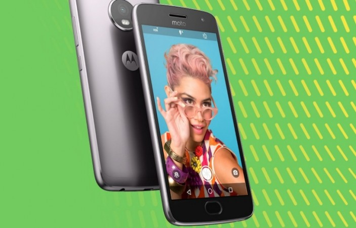 Motorola's Moto G5 Plus is shown in this picture for representational purpose