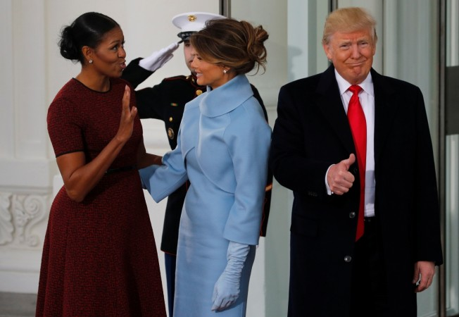 Melania trump ed by michelle obama as internet goes crazy over the michelle obama greets melania trump inauguration michelle obama melania trump melania trump white m4hsunfo