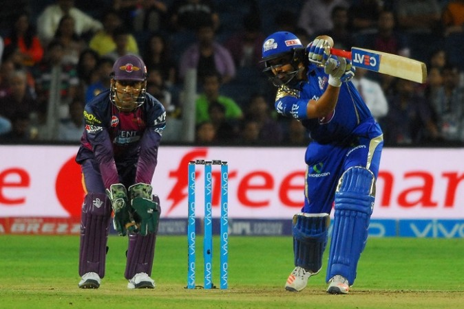 Rohit Sharma, Mumbai Indians, RPS, IPL 2017, MS Dhoni