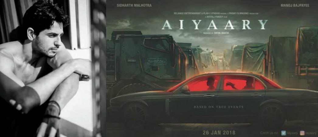 Aiyaary: Is Sidharth Malhotra on damage control mode after the Baar Baar Dekho debacle - IBTimes India