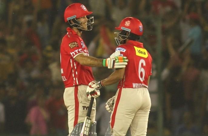 Glenn Maxwell, Wriddhiman Saha, Kings XI Punjab, IPL, RPS