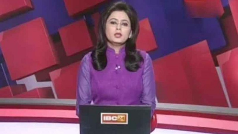 Chhattisgarh news anchor reads out husband's death on live