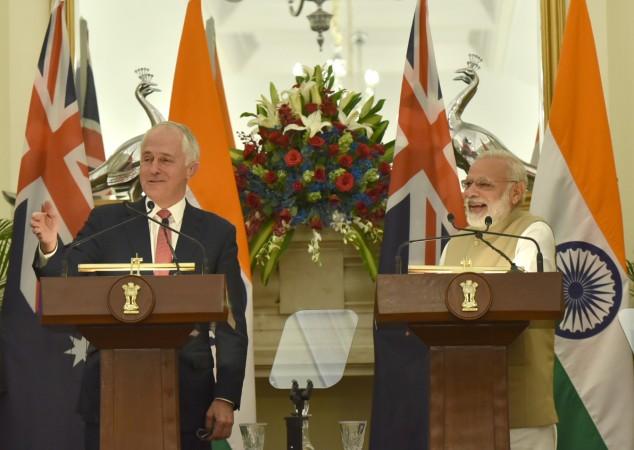 malcolm turnbull, PM Modi
