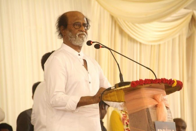 Rajinikanth at Neruppuda Audio Launch