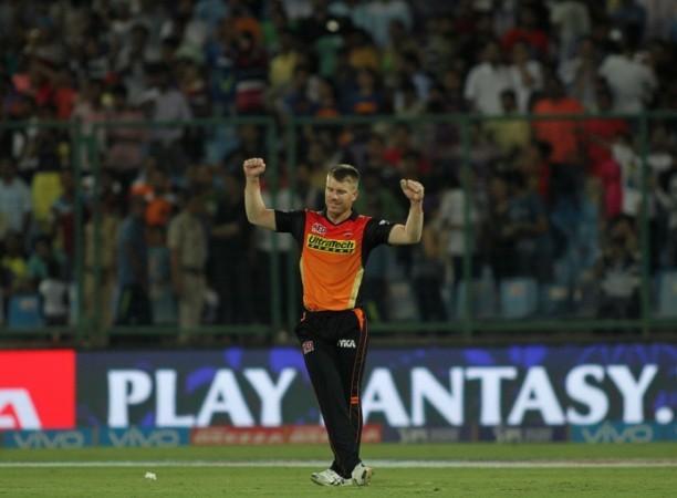 David Warner, IPl 2017, Sunrisers Hyderabad, Mumbai Indians vs SRH