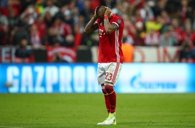 Arturo Vidal, Bayern Munich, Real Madrid, Champions League, quarterfinals