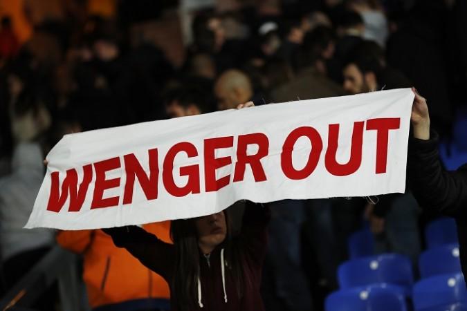 Arsene Wenger, Arsenal, Crystal Palace, fans, EPL