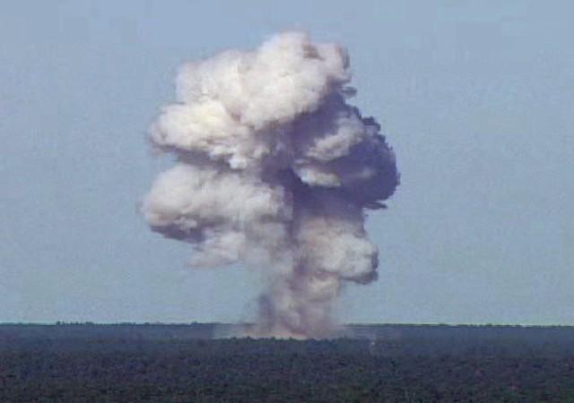 GBU-43/B, MOAB, Bomb blast