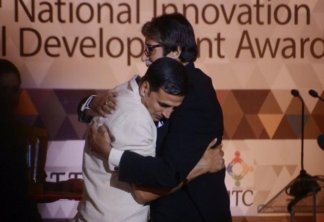 Amitabh Bachchan, Akshay Kumar, Padman