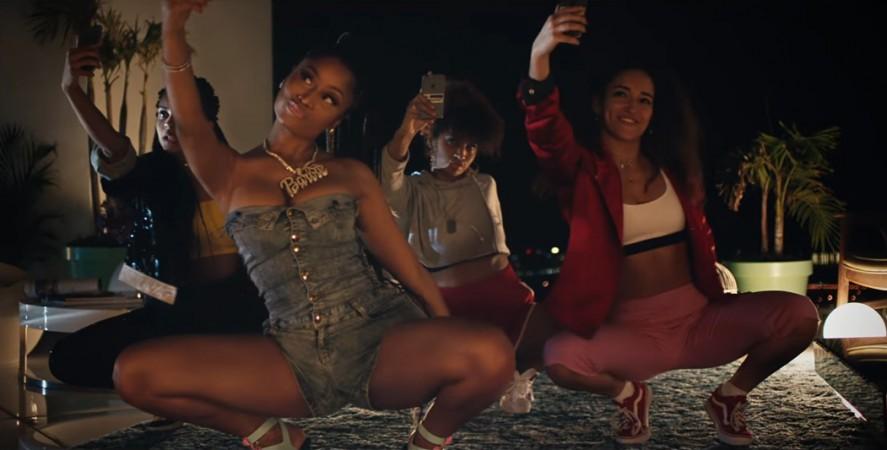 Nicki Minaj is featured in Major Lazer's