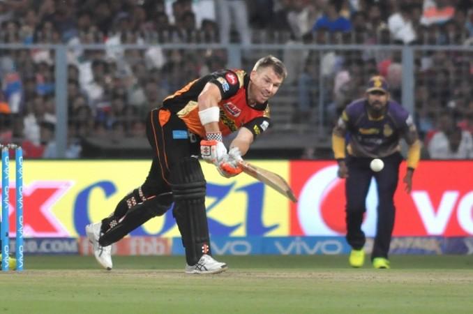 David Warner, IPl 2017, Sunrisers Hyderabad, SRH vs DD