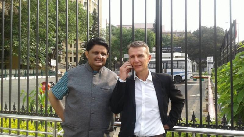 Pascal Mazurier and Kumar Jahgirdar