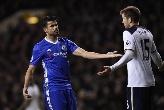 Diego Costa, Chelsea, Eric Dier, Tottenham, FA Cup