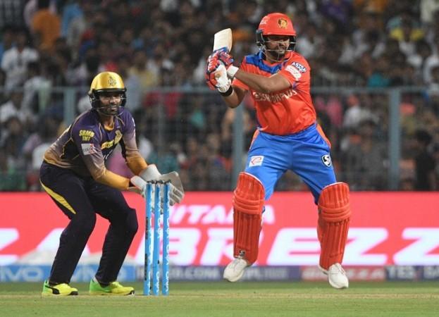 Suresh Raina, Gujarat Lions, IPL 2017, KKR