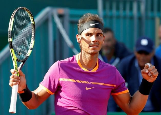 Image result for Rafael Nadal vs Albert Ramos-Vinolas live pic