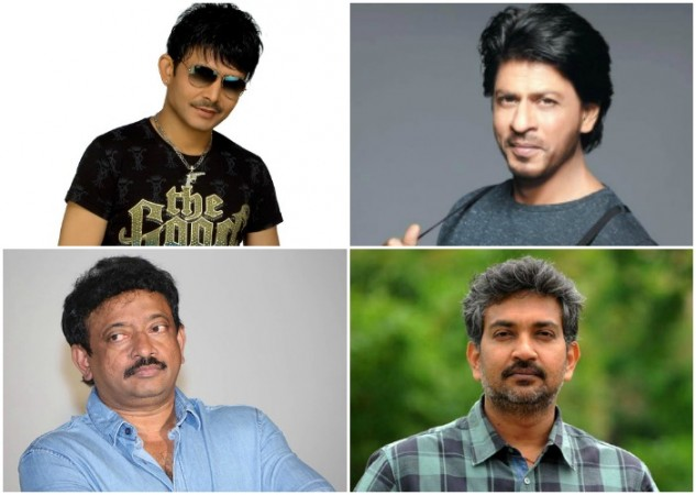 Kamaal R Khan, Shah Rukh Khan, Ram Gopal Varma, SS Rajamouli