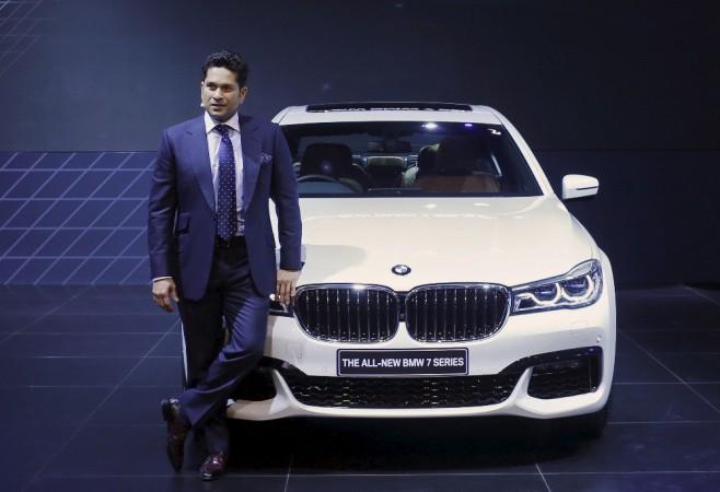 Sachin Tendulkar and BMW