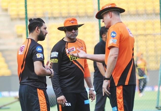 Yuvraj Singh, VVS Laxman, Tom Moody, SRH, IPL 2017