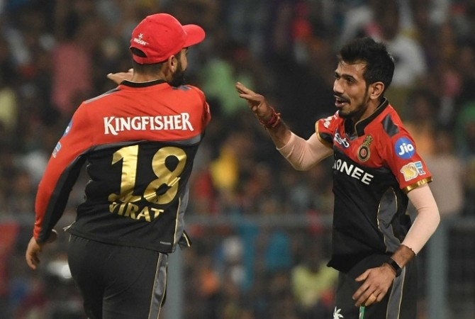 Virat Kohli, Yuzvendra Chahal, RCB, IPL 2017, Gujarat Lions