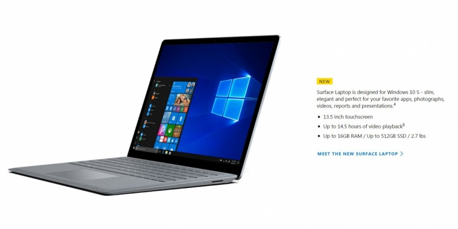 Microsoft EDU, May Event, highlights, Microsoft Surface laptop, Windows 10 S, Surface Arc Mouse, Windows Mixed Reality