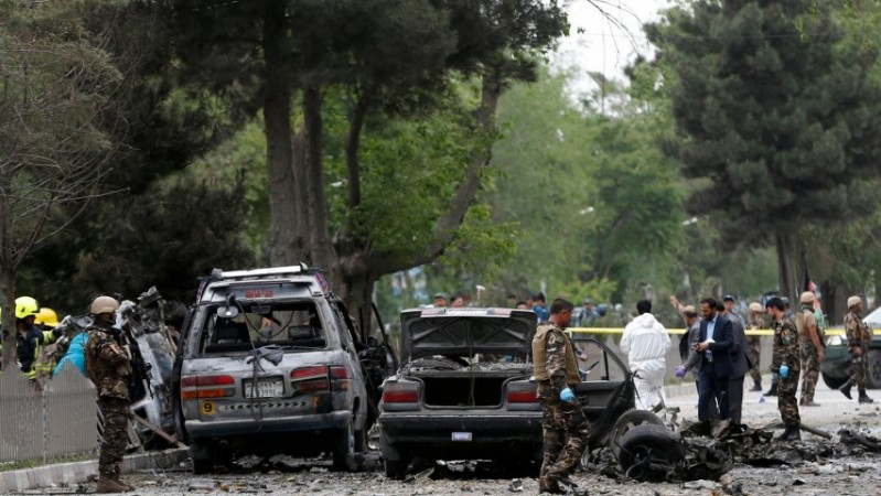 At least eight dead in suicide attack on Nato convoy in Kabul