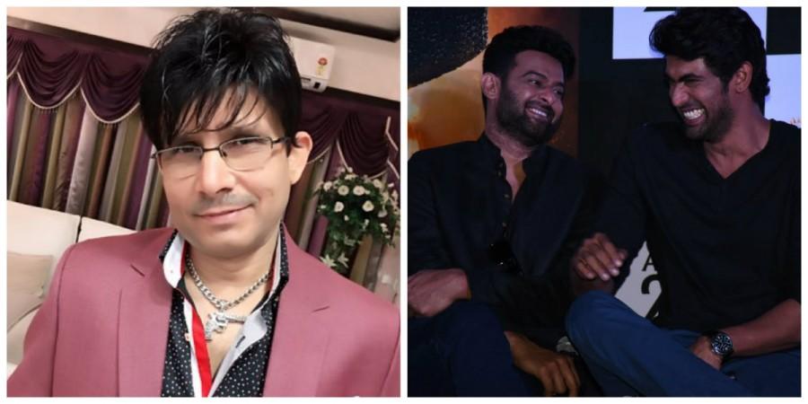 KRK, Prabhas and Rana Daggubati