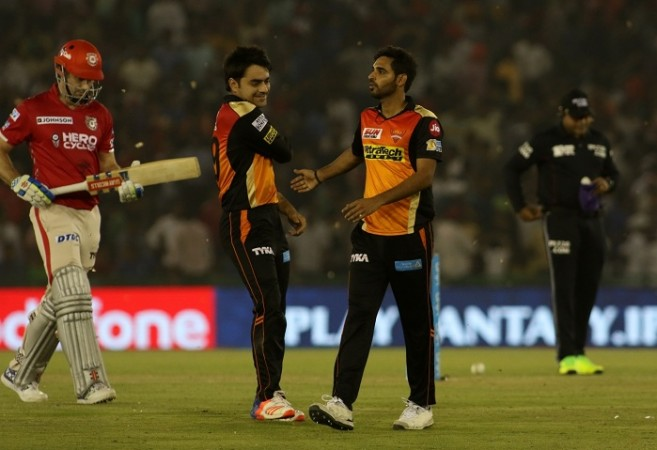 Bhuvneshwar Kumar, IPl 2017, Moises Henriques, India cricket, Sunrisers Hyderabad
