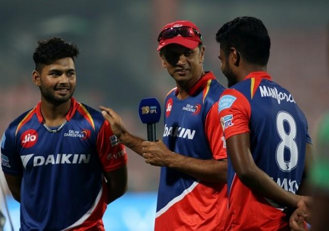 Rishabh Pant, Rahul Dravid, Sanju Samson, Delhi Daredevils, IPL 2017