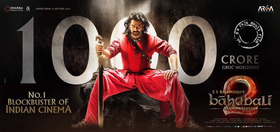 Baahubali 2 crosses Rs 1000 crore mark