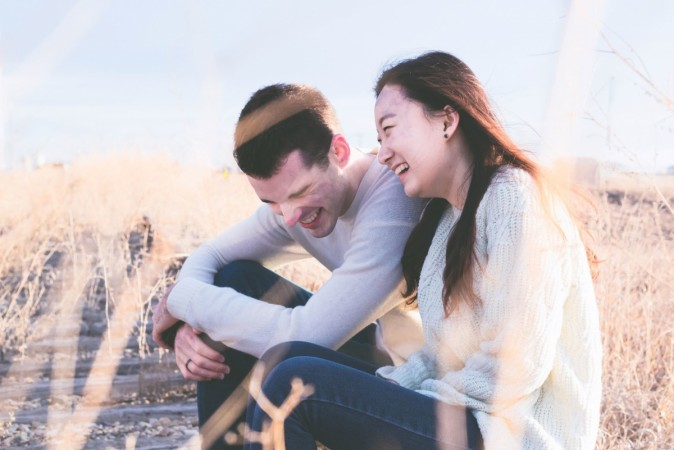 Laughter boosts relationship
