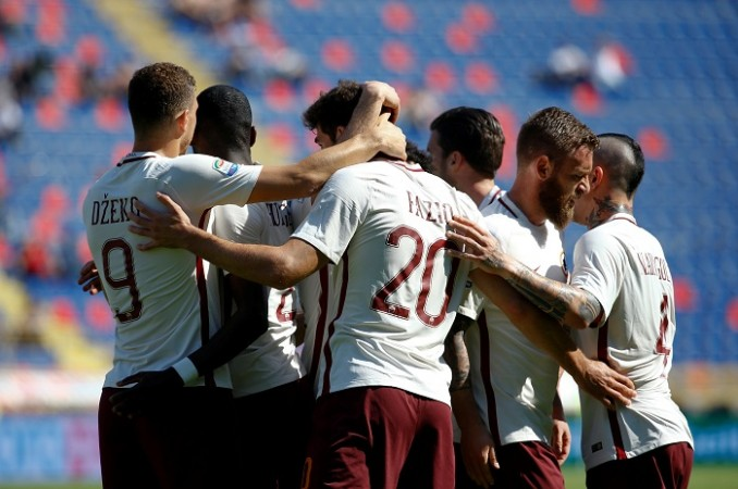 AC Milan vs AS Roma live streaming, AC Milan vs AS Roma, Serie A live streaming, Serie A, Francesco Totti, Mohamed Salah, Eden Dzeko, Radja Nainggolan