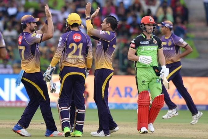 Sunil Narine, KKR, Kolkata Knight Riders, AB De Villiers
