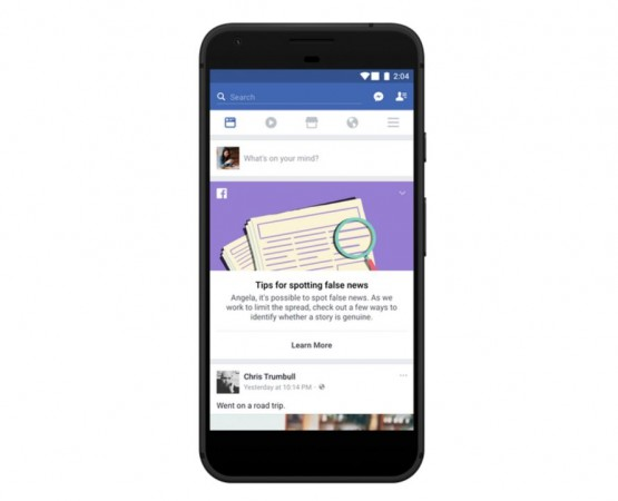 Facebook, fake news, help center, tips to spot fake news,