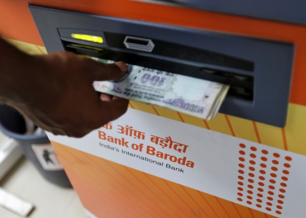 bank of baroda, bob, bank of baroda share price, banks, atms, atm, cash, rbi, cash withdrawal, note ban, demonetisation