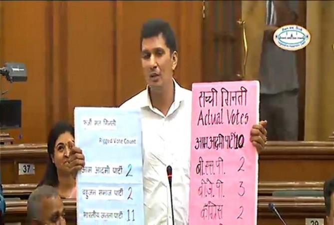 EVM in Delhi Assembly