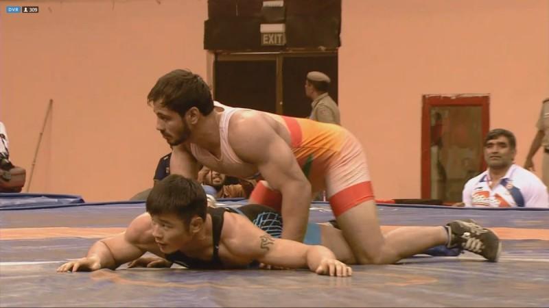 harpreet singh, wrestling