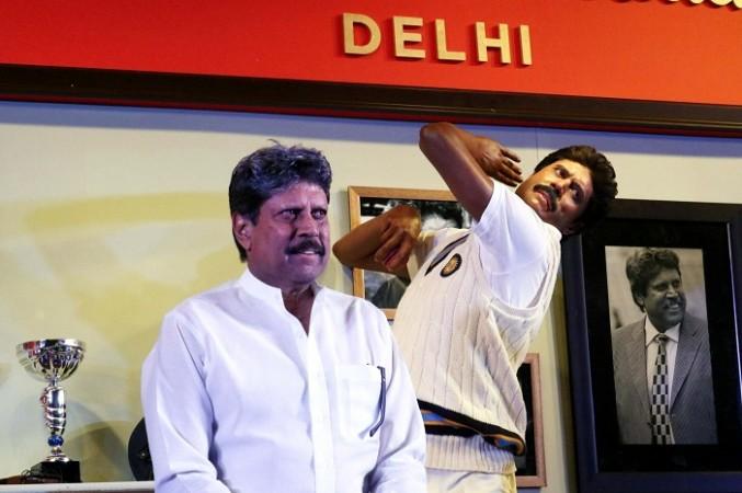 Kapil Dev, Madame Tussauds, wax statue, New Delhi