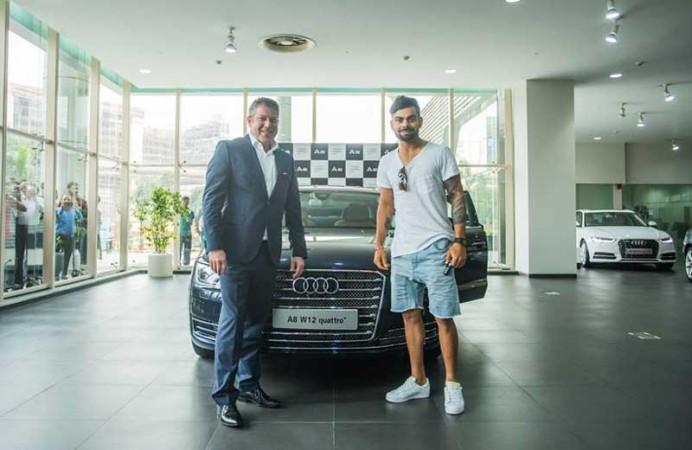 Virat Kohli and Audi